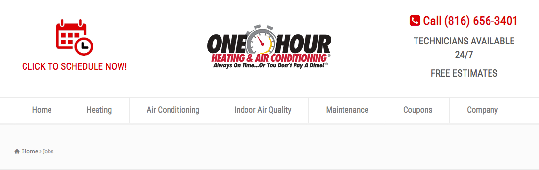 One Hour Heating & Air Conditioning Lee's Summit